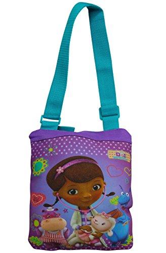 [Disney Doc McStuffins Girls Crossbody Bag Purse] (Toddler Stuffy Costume)