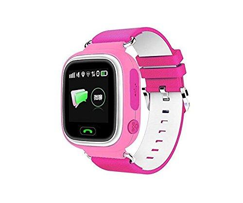 GPS Reloj Inteligente bebé Reloj Q90 Pantalla táctil WiFi ...