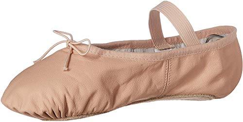 Bloch Women's Dansoft Full Sole Leather Ballet Slipper/Shoe, Pink, 5 Narrow