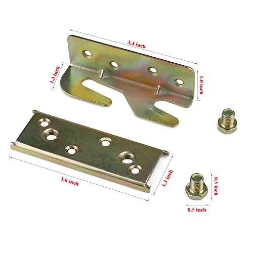 Buy bed frame brackets extenders