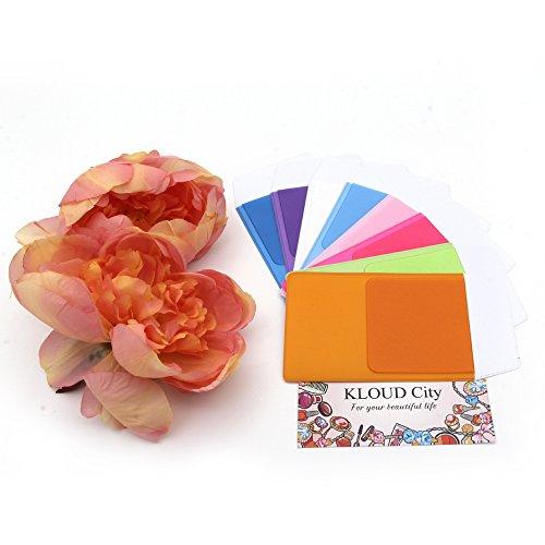 KLOUD City Assorted Colors Pocket Protector for Pen Leaks (8pcs different color) by KLOUD City (Image #5)