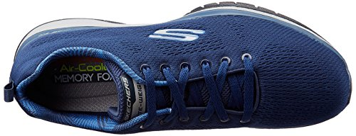 pick a best sale online Skechers Men's Burst Tr-Coram Low-Top Sneakers Blue (Nvy) 2014 cheap online sale latest collections cheap store fake cheap price 1gWC8