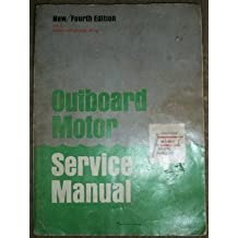 Outboard Motor Service Manual (4th edition- Volume 1)