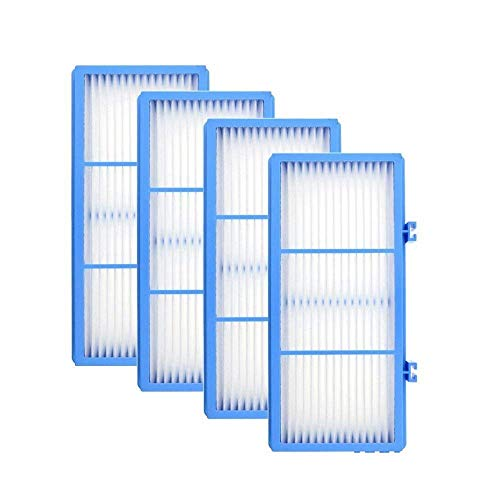 DerBlue 4pcs Replacement HEPA Filters for Holmes AER1 HEPA Type Total Air Filter,HAPF30AT for Purifier HAP242-NUC Air Purifier Spare Filter