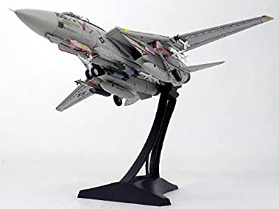 Grumman F-14A F-14 Tomcat VF-41 Black Aces, USS Enterprise with Display Stand - 1:72 Scale Diecast Model