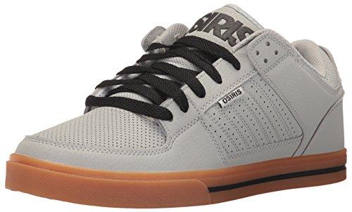 Osiris Men's Protocol Skate Shoe, Light Grey/Gum, 8.5 M US