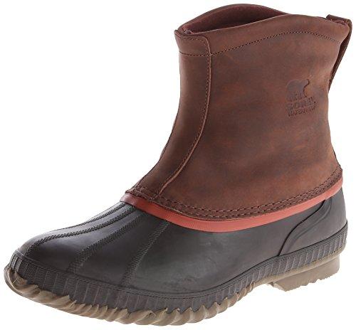 Sorel Men's Cheyanne Premium Rain Boot,Madder Brown,12 M US