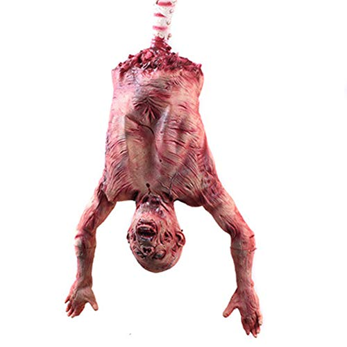 Halloween Decoration Props, Latex Half Body Standing Corpses, Hanging Ghosts, Horror Ornaments ()