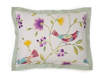 Collier Campbell Singing Birds Pillow Sham, Standard