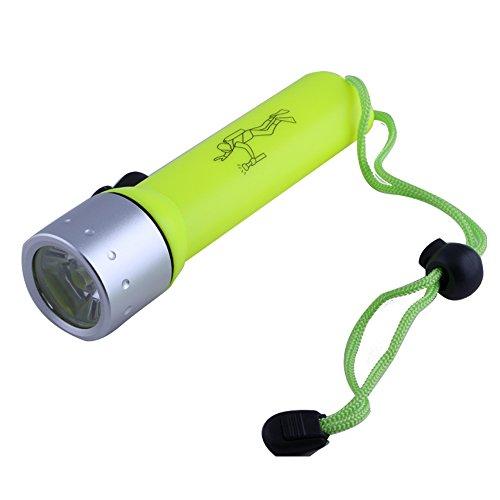 Generic LED Submarine Light Diving Flashlight Underwater Torch Waterproof Q5 Lamp