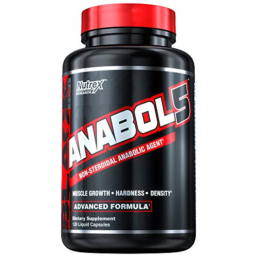 (Nutrex Research Anabol-5, 120 Count)