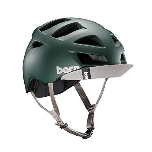 Bern Unlimited Allston Helmet w/ Flip Visor (Matte Hunter Green, ()
