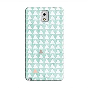 Cover It Up - Odd Hills Blue Galaxy Note 3 Hard Case