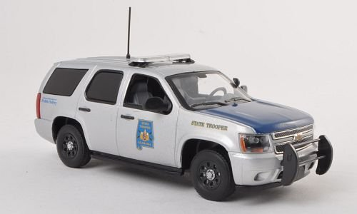 Chevrolet Tahoe, Alabama Highway Patrol, police (US) , 2011, Model Car, Ready-made, First Response 1:43 (Tahoe Model Cars)