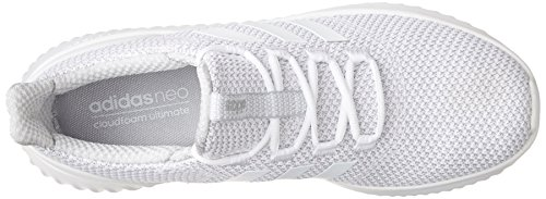 adidas Originals Men's Cloudfoam Ultimate Running Shoe White/White/Grey Two big sale for sale cheap get authentic 6IJhsZ
