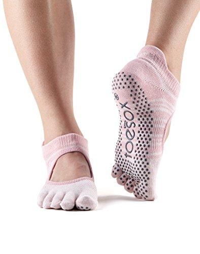 utilizzato con fitness e barre dita yoga pilates per calzini nbsp; Bellarina Grip danza calzini ToeSox essere può q1gSZwv