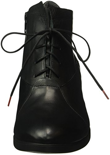 Think Mea, Zapatillas de Estar por Casa para Mujer Negro - Schwarz (Schwarz 00)