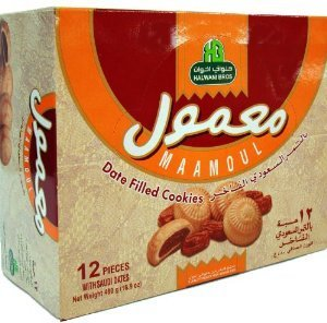 Maamoul, Date Filled Cookies (Halwani Bros) 480g (16.9oz) by HalwaniBros