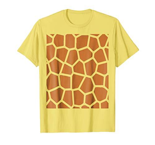 Giraffe Costume Cute And Funny Spirit Animal Halloween Shirt