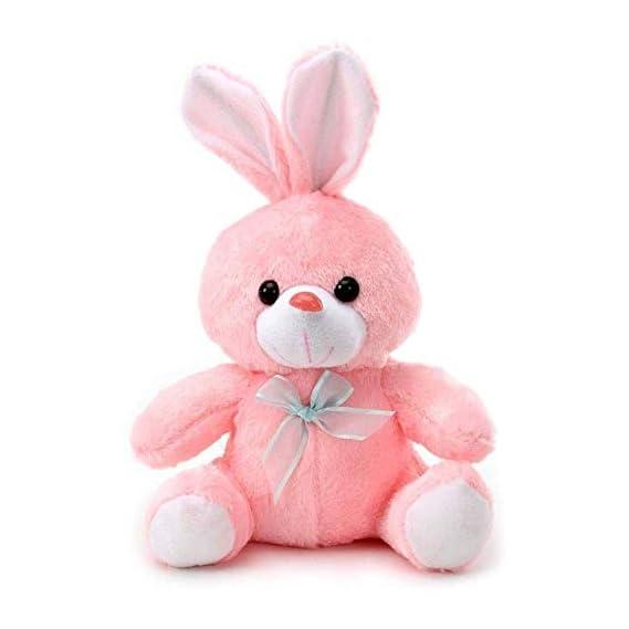 Yashika Toys Pink Soft Rabbit Stuffed Soft Plush Toy Kids Birthday 25 cm Gift Item for Kids