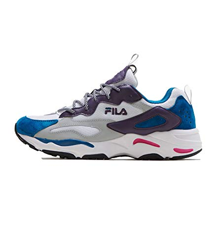 Fila Women's Ray Tracer Shoes Sneakers White/Blue/Purple (13)