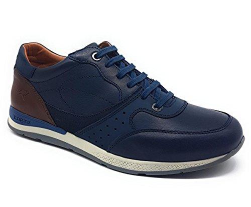Blue Pelle 941 Kangaroos Blu 14 Scarpe TgqxBS6