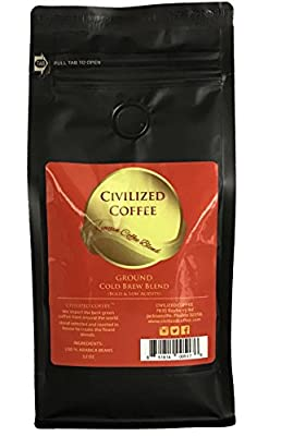 CIVILIZED COFFEE- African Kenyan Blend, Whole Bean, Arabica Coffee