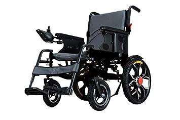 SABWAY Silla de Ruedas Eléctrica Aluminio Plegable 500 W Negra - Mayores Ancianos Ligera Movilidad Reducida Minusválidos: Amazon.es: Deportes y aire libre