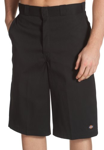 Dickies Men's 15 Inch Loose Fit Multi-Pocket Work Short, Black, 44