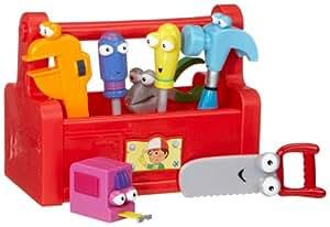 Fisher-Price - P1480-0 - Caja de herramientas parlante de Manny Manitas de Disney [versión en alemán] (Mattel)