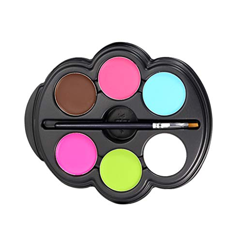 Lurrose 6 Colors Face and Body Paint Kit