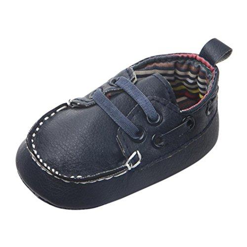 Pu Bambino Morbido Scarpe Del Camminatore Jimmackey Flats Neonato Scuro Fagioli Blu Calzature Bottom Znzxqw8BwX