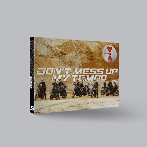 - EXO - Don't Mess UP My Tempo [Moderato ver.] (Vol.5) CD+Booklet+Photocard+Pre-Order Benefit+Folded Poster+Extra Photocards Set