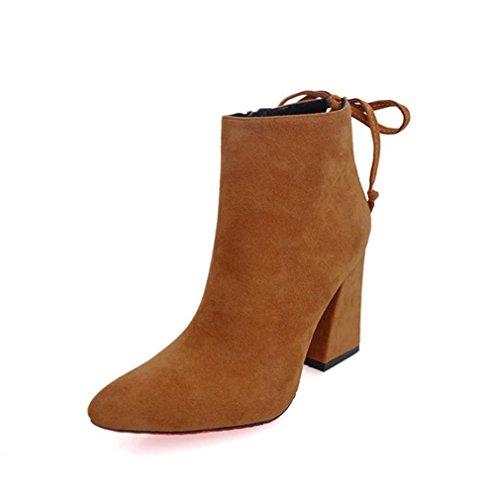 amp; Kunstleder Herbst Vielen Damen Größentabelle Schuh eine Schnee die Dank Transer® Nummer Yellow Kunststoff Stiefel Warm bestellen Sie Winter auf Bitte achten Stiefeletten Bitte größer zFq4tftcw