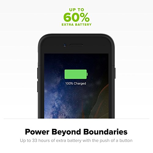 mophie juice pack wireless - Charge Force Wireless Power - Wireless Charging Protective Battery Pack Case for iPhone 7 Plus – Black by mophie (Image #5)