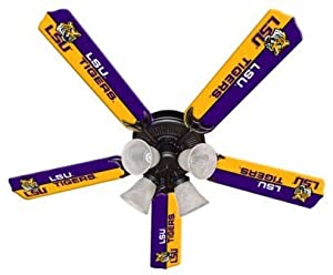Ceiling fan designers 7995 lsu new ncaa lsu tigers 52 in ceiling ceiling fan designers 7995 lsu new ncaa lsu tigers 52 in ceiling fan mozeypictures Gallery