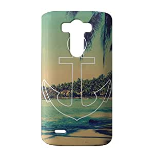 Fascinating beach 3D Phone Case for LG G3