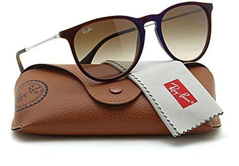 0e181ea1832 Amazon.com  Ray-Ban RB4171 ERIKA CLASSIC Womens Brown Gradient Sunglasses  631513