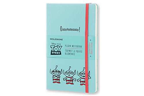 Moleskine Toy Story Limited Edition Notebook, Large, Plain, Light Blue, Hard Cover (5 x 8.25)