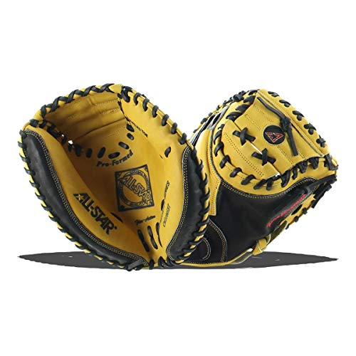 615a831a1cf This is All-Star s much more budget friendly catcher s mitt. Just don t  mistake that for meaning it s not a good quality catcher s mitt.