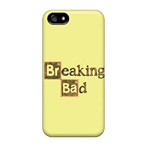 Awesome Design Breaking Bad Logo Yellow Background Hard Case Cover For Iphone 5/5s