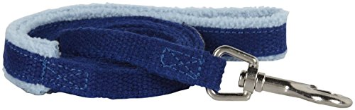 (Planet Dog Lil' Hemp Leash Fleece Handle, Hypoallergenic, Soft, Durable, 1/2