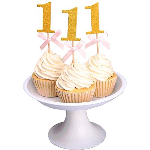 Glitter Bow knot Birthday Anniversary Decorative product image