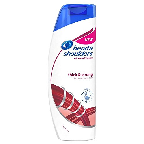 Citrus & Head Shoulders Shampoo (Head & Shoulders Thick & Strong Shampoo 500ML by Head & Shoulders)