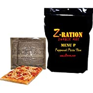 MRE Z-Ration (Zombie MRE) Custom 'Meal Ready to Eat' (MENU P - Pepperoni Pizza Slice)