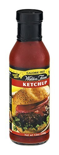 Farms Ketchup (Walden Farms Ketchup Calorie Free 12 OZ (Pack of 18) by Walden Farms)