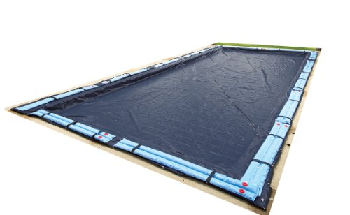 Blue Wave Bronze 8-Year 25-ft x 45-ft Rectangular In Ground Pool Winter Cover from Blue Wave