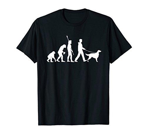 - Irish Setter T-Shirt - Funny Dog Owner Evolution Gift