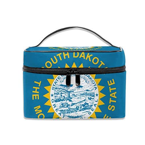 Portable Travel Makeup Cosmetic Bags Organizer Multifunction Case Toiletry Bags for Women South Dakota