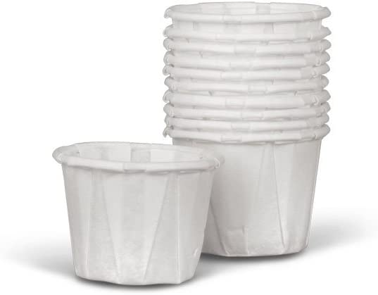 Medline NON024214 Disposable Paper Souffle Cup, 0.5 oz (Pack of 5000)